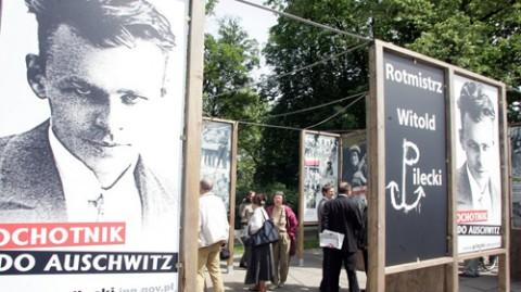 Wystawa, poświęcona rotmistrzowi Witoldowi Pileckiemu, fot. Jerzy Gumowski/AG