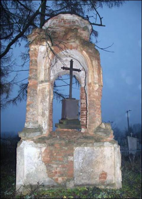 Kaplica przed rozsypaniem się, fot.: K.Szastouski/Radzima.org