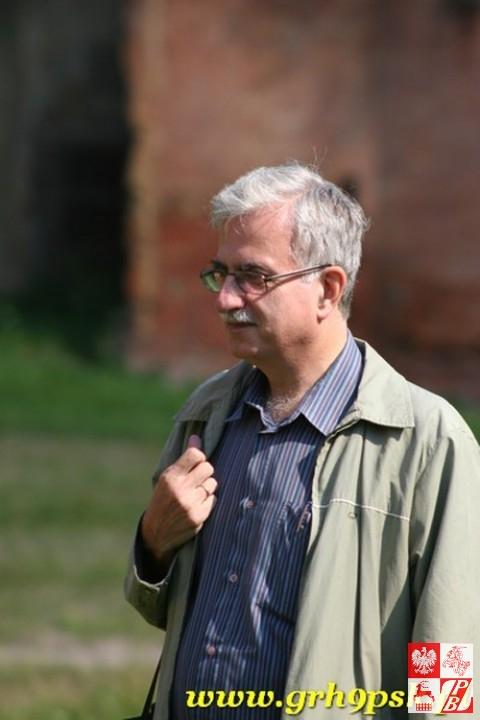 Inicjator projektu filmowego, prezes Fundacji Joachima Lelewela Piotr Kościński