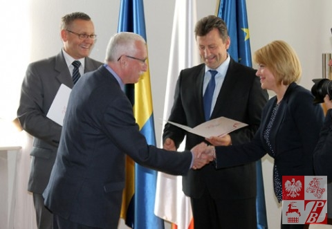 Dyplom Uznania otrzymuje Andrzej Gościniak