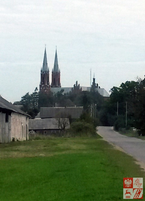 Stuletni kościół w Widzach