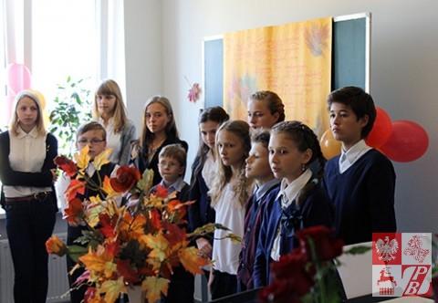 Uczniowie  PSS przy Oddziale ZPB w Brześciu