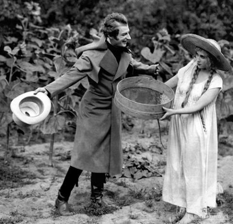 """Scena z filmu """"Pan Tadeusz"""" (1928), fot.: fototeka.fn.org.pl"""