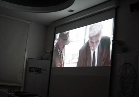 Podczas projekcji filmu