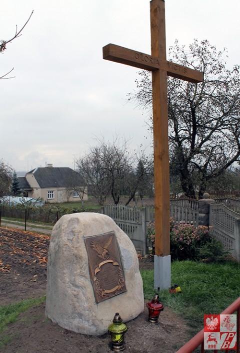 Pomnik Mieczysława Niedzińskiego w Kulbakach