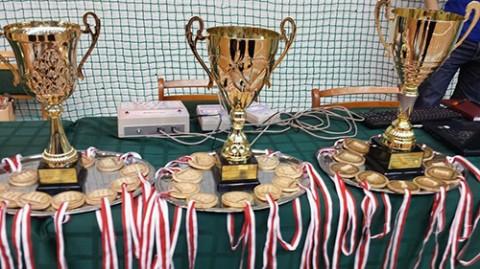 Trofea dla zwycięsców