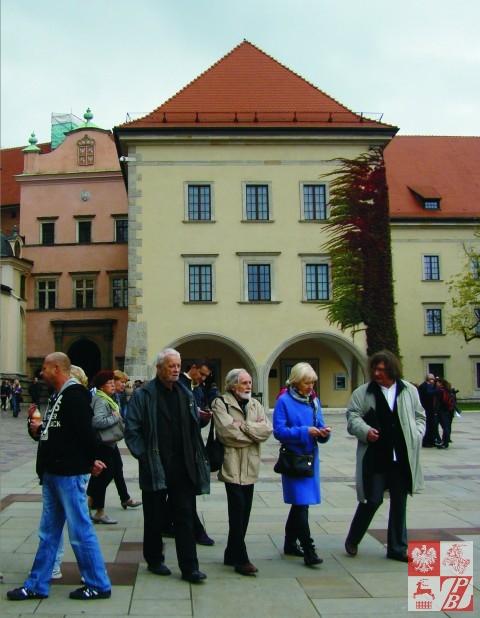 Podczas wycieczki po Krakowie