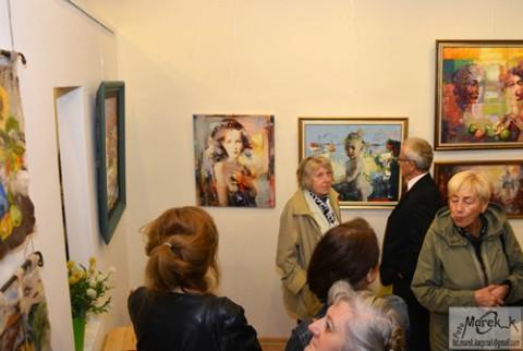 Wystawa cieszy się dużym zainteresowaniem łódzkiej publiczności