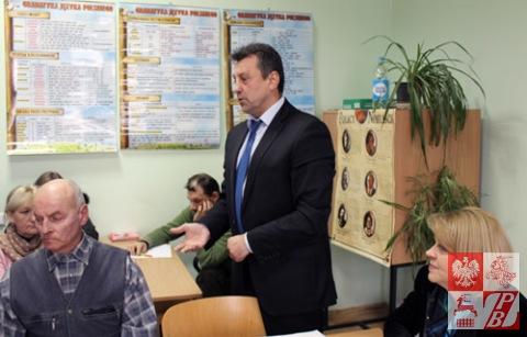 Przemawia Mieczysław Jaśkiewicz, prezes ZPB