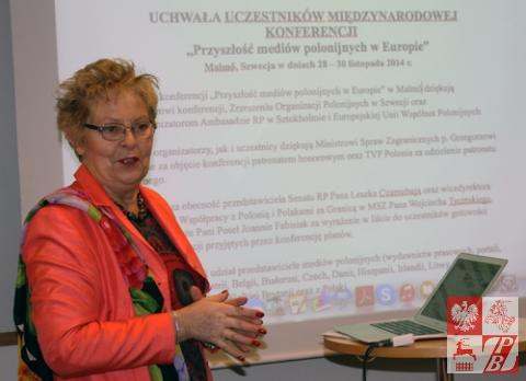 Konferencja_w_Szwecji_Teresa_Sygnarek_uchwala