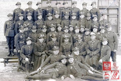 Szwadron Kawalerii 1. Dywizji Piechoty im. Marszałka Józefa Piłsudskiego przed wybuchem wojny. Zdjęcie pamiątkowe