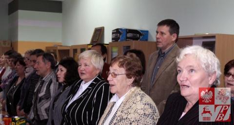 """Odśpiewanie hymnu ZPB """"Roty"""", kończące posiedzenie Rady Naczelnej"""