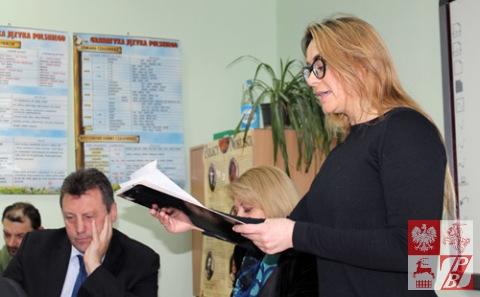 Sprawozdanie z działalności Działu Kultury ZPB składa Weronika Szarejko