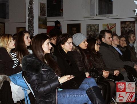 Publiczność podczas przeglądu konkursowego w Grodnie