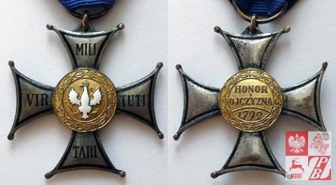 Srebrny Krzyż Orderu Virtuti Militari