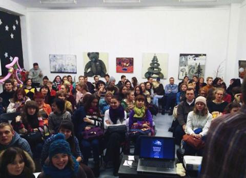 Publiczność podczas pokazów w Mińsku, fot.: vk.com