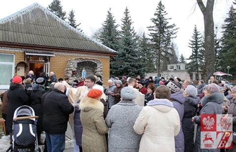 Uroczystość zgromadziła około stu wiernych