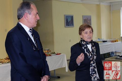 Przemawia Weronika Sebastianowicz