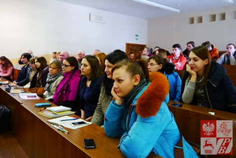 Licznie przybyli na seminarium studenci wydziału filologii BUP