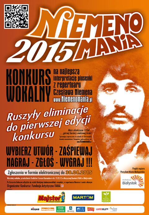 Afisz konkursu, fot.: niemenomania.pl