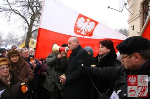 2010.02.10 - Protest ZPB Grodno