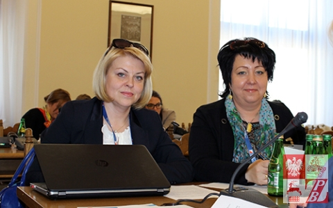 Reprezentantki Białorusi Andżelika Borys i Iness Todryk-Pisalnik
