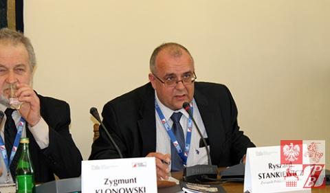 Przemawia Ryszard Stankiewicz