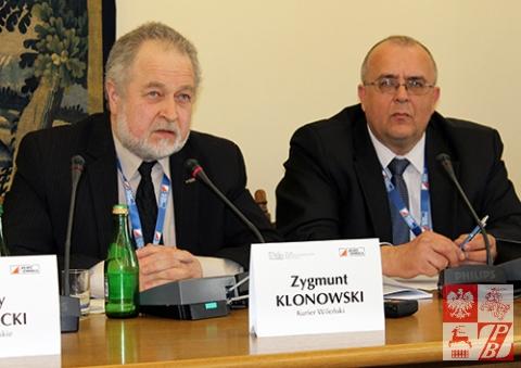 Przemawia Zygmunt Klonowski