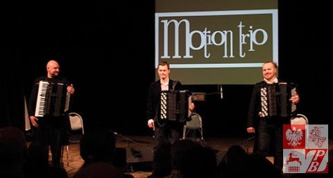 Motion Trio dziękuje mińskiej publiczności