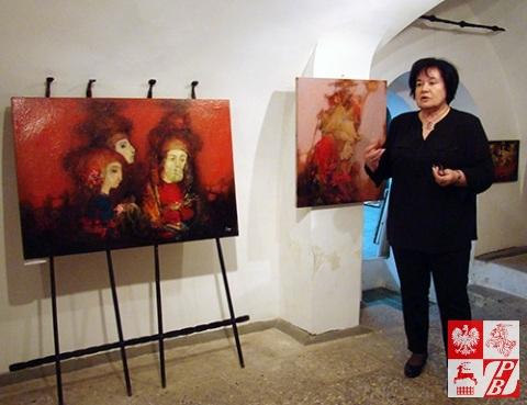 Przemawia Marina Zagidulina
