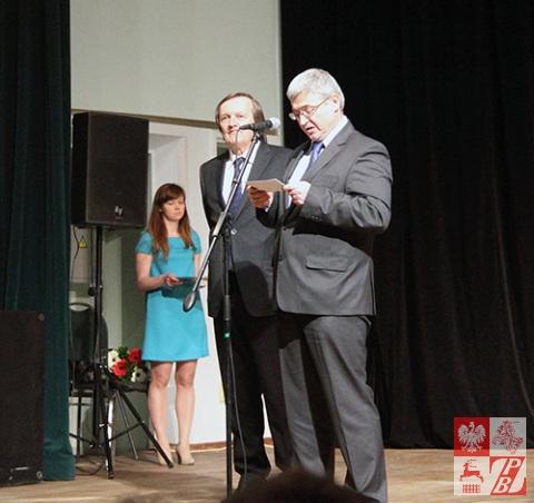 Przemawia Leszek Szerepka, ambasador RP w Mińsku
