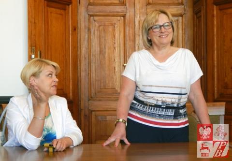 Andżelika Borys i Anna Okońska-Walkowicz