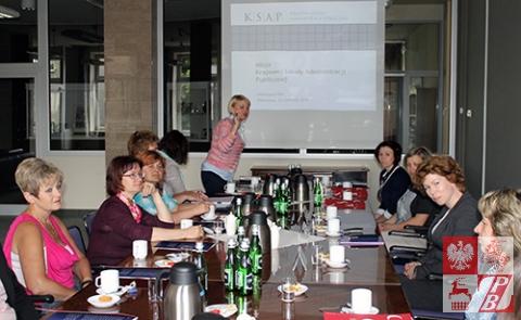 Podczas spotkania w KSAP