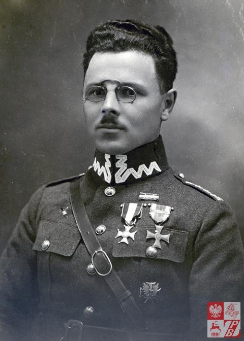 Karol Tomkowicz - zdjęcie z początku lat 20. ubiegłego stulecia