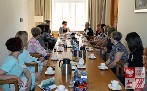 Podczas spotkania w MEN RP