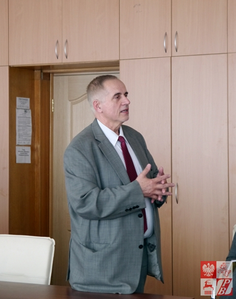 Przemawia dr Marek Krześniak