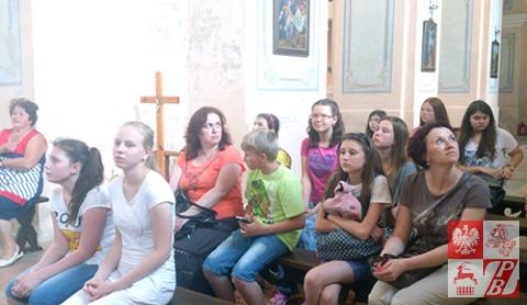 W nowogródzkim kościele farnym