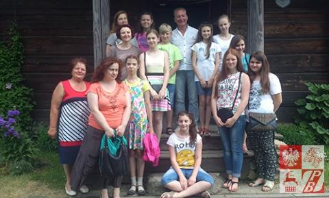 Zdjęcie pamiątkowe uczestników wycieczki