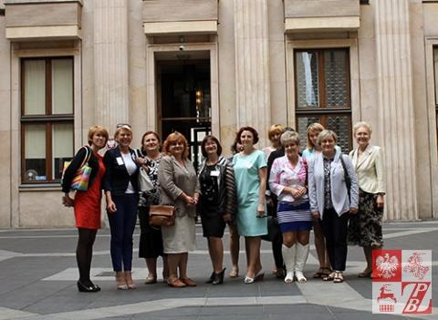Delegacja nauczycieli języka polskiego z Białorusi