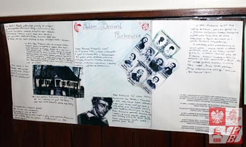 Uczniowie szkoły pielęgnują pamięć o patronie placówki