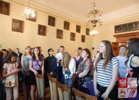 W Sali Portretowej w Urzędzie Miasta Krakowa