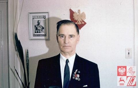 27 czerwca 1962 r. Narcyz Łopianowski jako przestawiciel Rządu RP na Uchodźstwie w Kolumbii Brytryjskiej