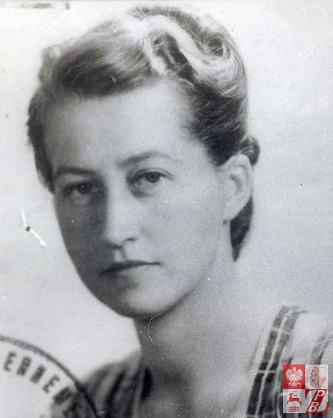 Irena Łopianowska - Warszawa, 1940 r.
