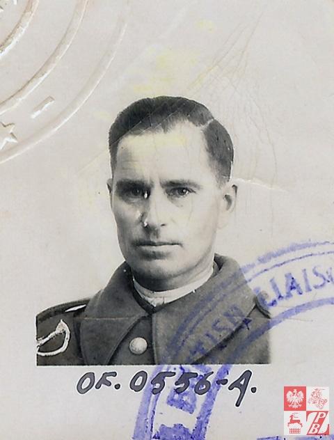 Rtm. Narcyz Łopianowski w Armi Andersa. Grudzień 1941r.