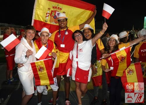 Igrzyska Polonijne to także możliwośc zaprzyjaźnienia się z Rodakami z różnych krajów świata