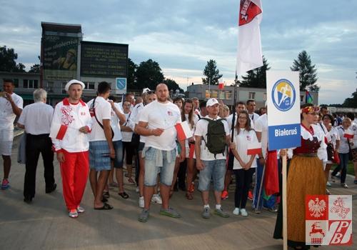 Reprezentanci ZPB podczas otwarcia Igrzysk