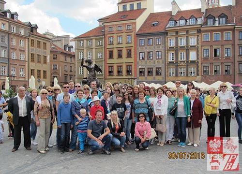 Na warszawskiej starówce