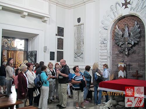 W kościele św. Anny