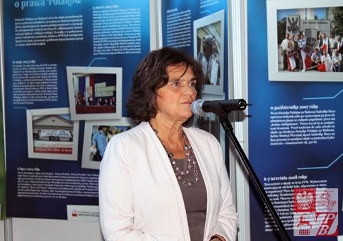 Przemawia poseł na Sejm RP Joanna Fabisiak
