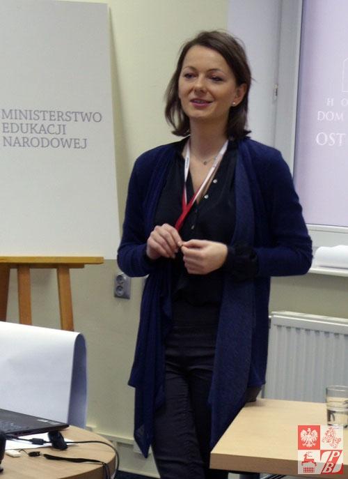 Trener ODNSWP Magdalena Grześkiewicz